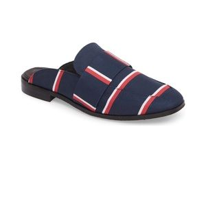 FREE PEOPLE Nautical Striped At Ease Loafer